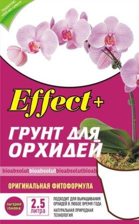 Грунт для орхидей Эффект + эффект плюс + готовый грунт, для орхидей, кора сосновая, кора сосны