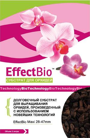 Субстрат для орхидей, макси 28-47 мм, кора для орхидей, сосновая кора, для орхидей, эффект био, effectbio
